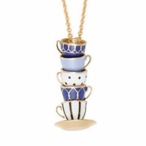 Kate Spade Necklace Tea Time New